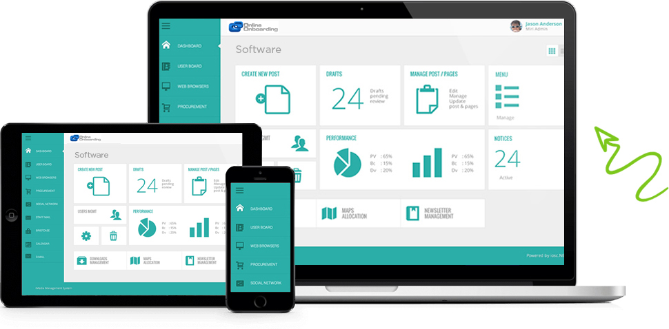 Online Onboarding System: Online Onboarding Software